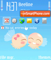 Valentine 2013 Theme-Screenshot