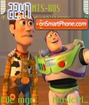 Скриншот темы ToyStory 2