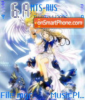 Belldandy 2 theme screenshot
