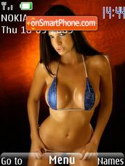 Hot Babes 24 es el tema de pantalla