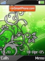 Trance green es el tema de pantalla