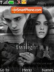 Bella and edward tema screenshot