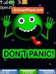 Panic es el tema de pantalla