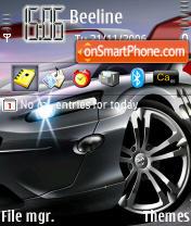 Скриншот темы Mercedes Gullwing