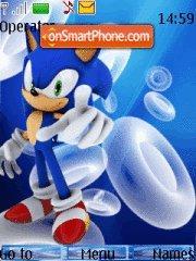 Sonic 13 theme screenshot