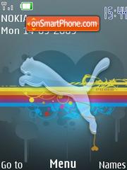 Скриншот темы Puma 3257