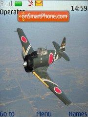 Plane tema screenshot