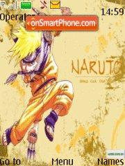 Naruto Uzumaki theme screenshot