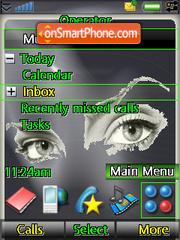 Mistic eyes es el tema de pantalla