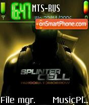 Splinter Cell 2 es el tema de pantalla