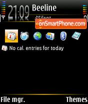 PureBlack 01 theme screenshot