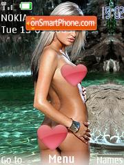 Sexyblonde theme screenshot
