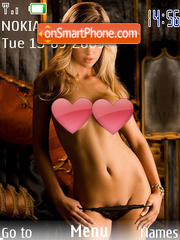 Hotgirl theme screenshot