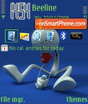 Antiseptic theme screenshot