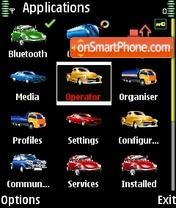 Cars icons es el tema de pantalla