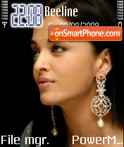 Aishwarya Rai 05 es el tema de pantalla