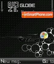 Black Vista V3 theme screenshot