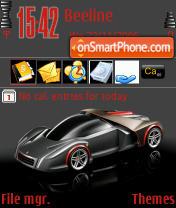 Ferrari Gray theme screenshot