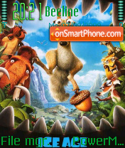Ice Age 3 08 theme screenshot