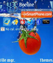 Tomato theme screenshot