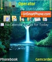 Скриншот темы Waterfall