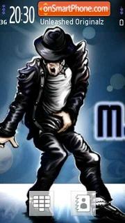 Michael Jackson V3 01 theme screenshot