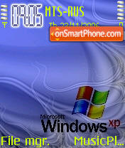 Blue XP theme screenshot