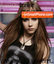 Avril Lavigne 25 es el tema de pantalla