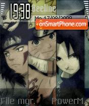 Naruto 2001 theme screenshot