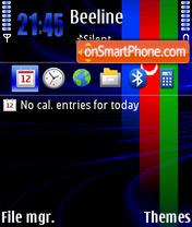 Azerbaijan theme screenshot
