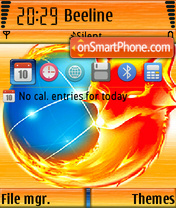 Firefox 08 theme screenshot