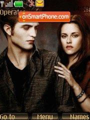 Twilight Saga New Moon tema screenshot