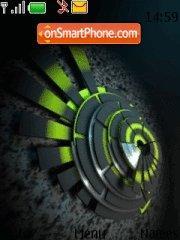Green 2 theme screenshot
