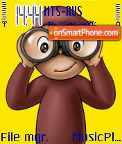 Monkey es el tema de pantalla