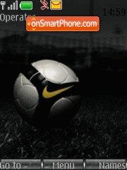Nike Soccer theme screenshot