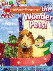 Wonder Pets theme screenshot