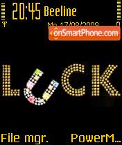 Luck 01 es el tema de pantalla