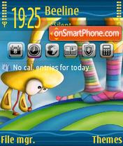Giraffe 02 theme screenshot
