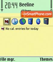 Xlore style N5 es el tema de pantalla