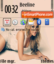 Hayden Panettiere 02 theme screenshot