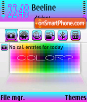 Colorbatte theme screenshot