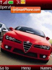 Alfa Romeo Brera-s theme screenshot