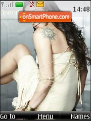 Esha Deol theme screenshot