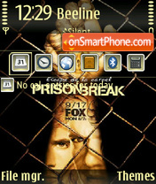 Prison Break S3 theme screenshot