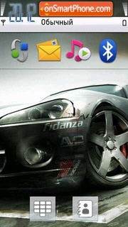 Grid theme screenshot