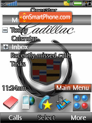 Cadillac tema screenshot