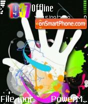 Colorful Stop es el tema de pantalla