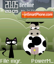 Cat And Cow theme screenshot