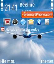 Скриншот темы Aviator