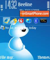 White Bear es el tema de pantalla